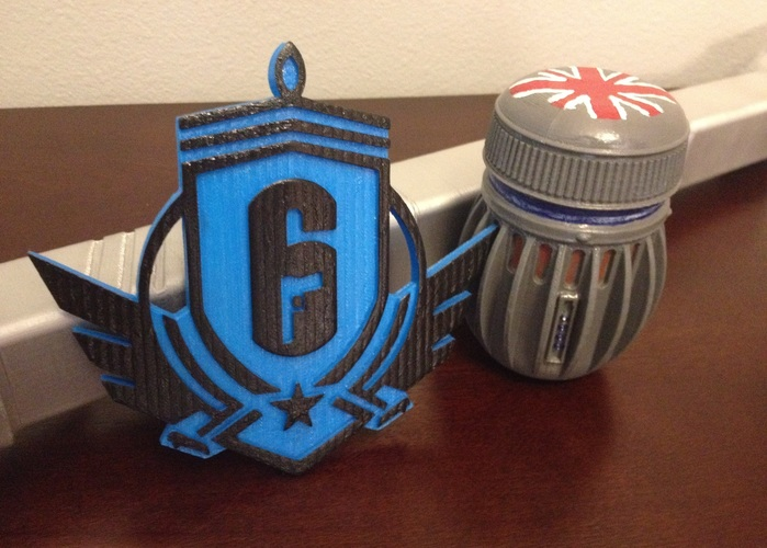 Rainbow Six Siege: Diamond Emblem  3D Print 93462