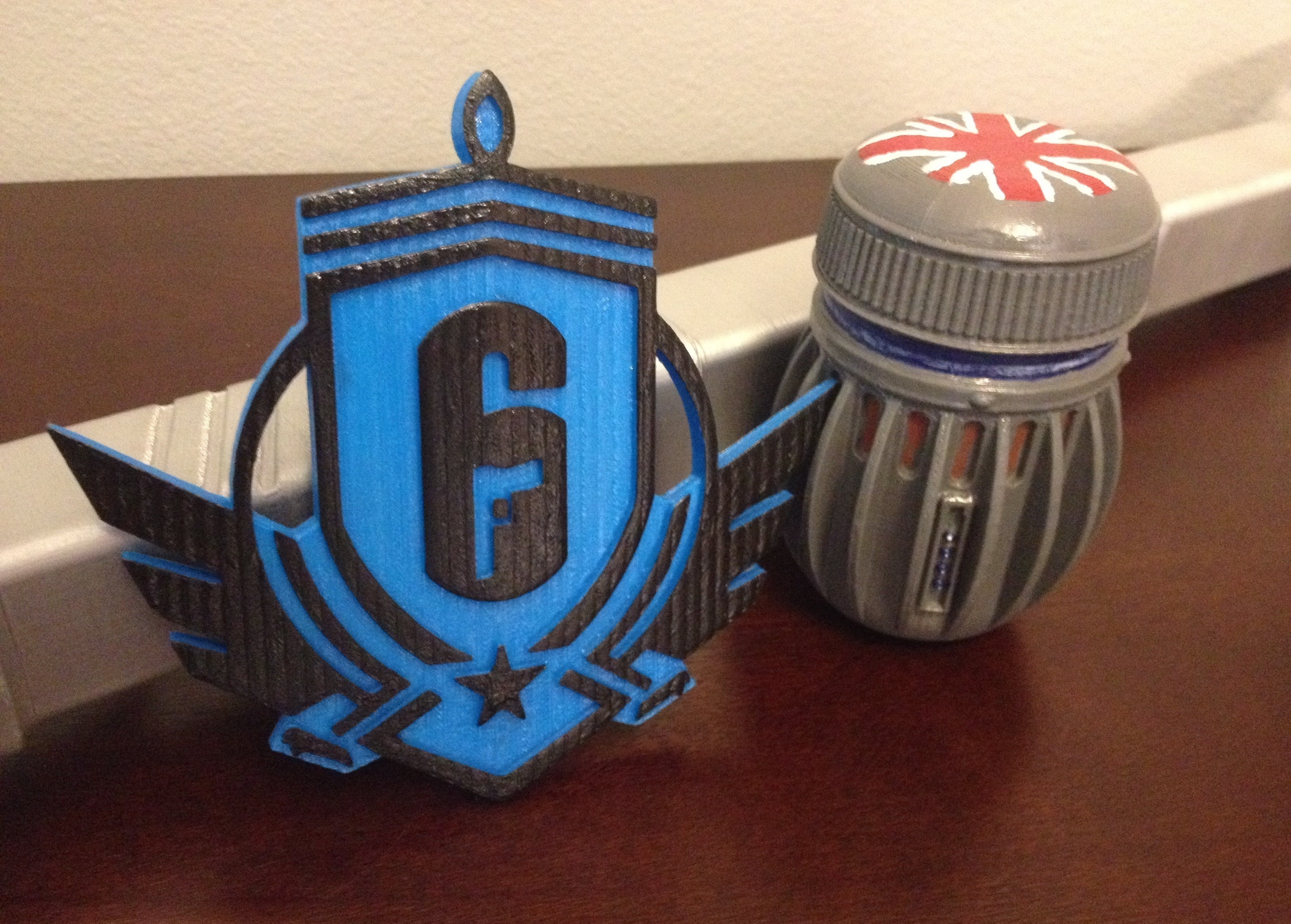 3D Printed Rainbow Six Siege: Diamond Emblem by Jacob Nave | Pinshape