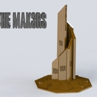Small Kalma Chowk Monument (A tribute) 3D Printing 93473