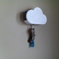 Small Cloud magnetic key shelf for car key fob 3D Printing 93502