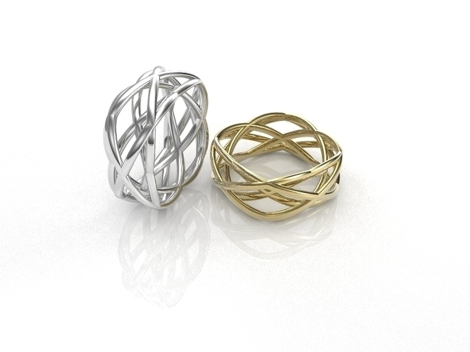 WireWave-ring 3D Print 93528