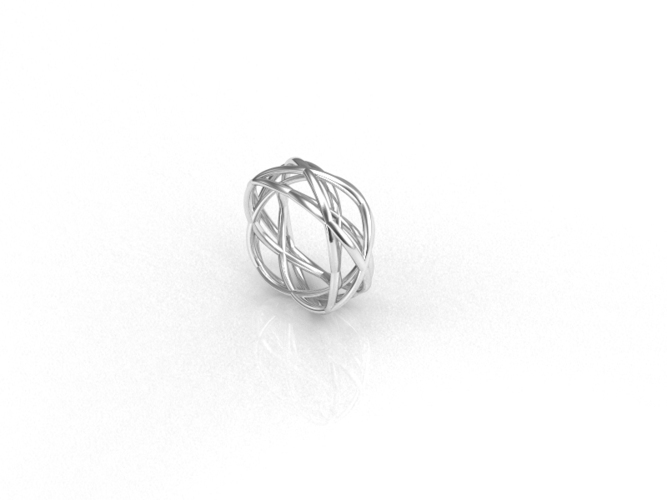 WireWave-ring 3D Print 93529