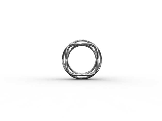 WireWave-ring 3D Print 93532
