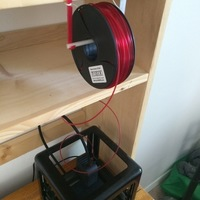 Small Simple Spool Holder 3D Printing 93549