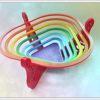 "Small Bowl for sweets ""rainbow"" 3D Printing 93600"