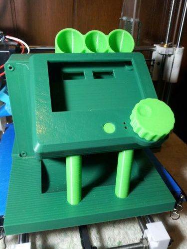 rumba large lcd diplay case remix  and base added 3D Print 93817