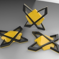 Small XMachines Logo  3D Printing 93851