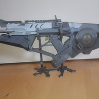 Small Razorback Gun (Call of Duty) 3D Printing 93861