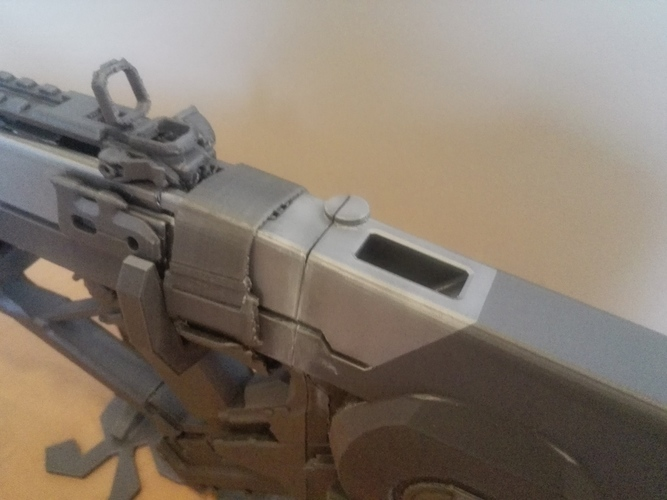 Razorback Gun (Call of Duty) 3D Print 93862