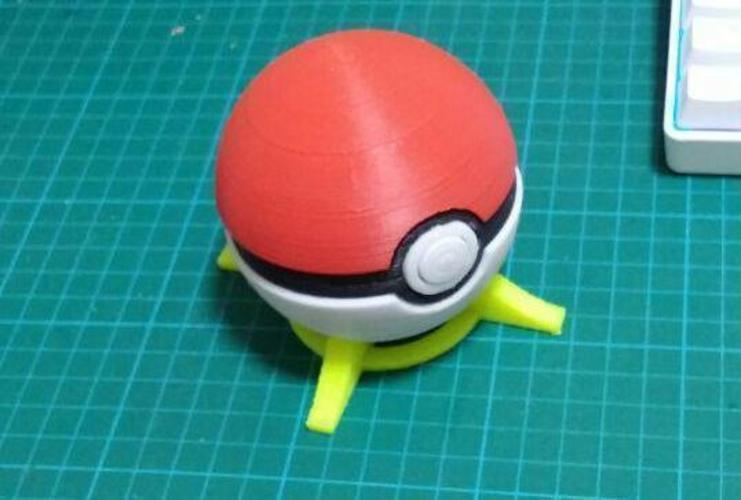 Pokeball remix 3D Print 93885