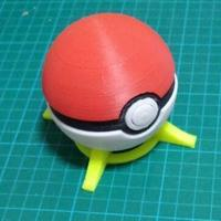 Small Pokeball remix 3D Printing 93885