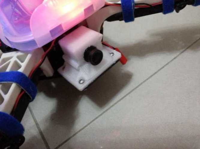 Mini Video Camera Mount 3D Print 93916