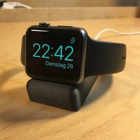 Small Apple Watch Sleep Rest (Night Stand) 3D Printing 93968