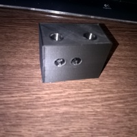 Small Additional Door Lock Housing Customizable 3D Printing 94051