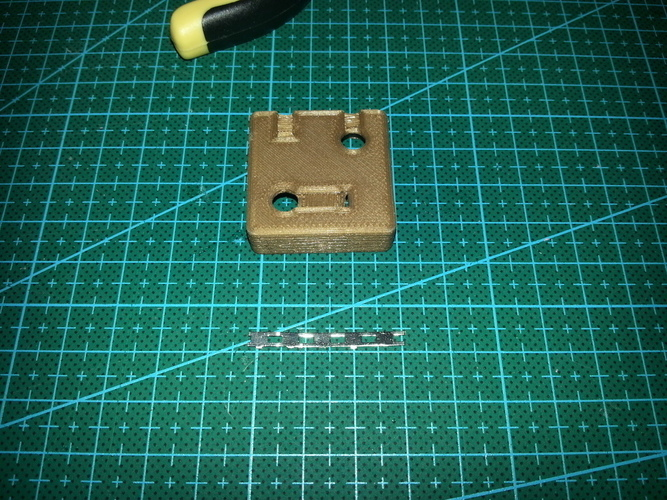Battery holder 4xAA Square 3D Print 94081