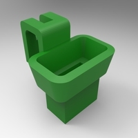 Small Pen drive holder 3D Printing 94166