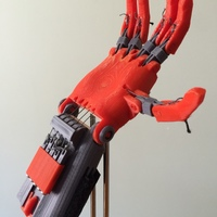 "Small ""Spock"" Basketball Prosthetic Hand 3D Printing 94217"