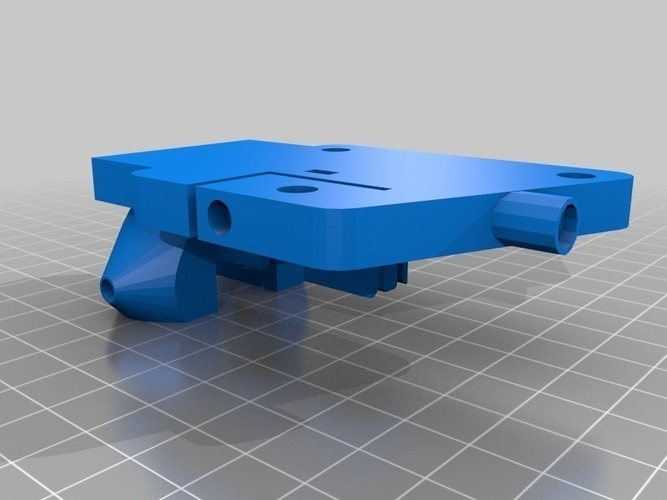 Kossel Carriages - For Use With Switchfector V3 3D Print 94310