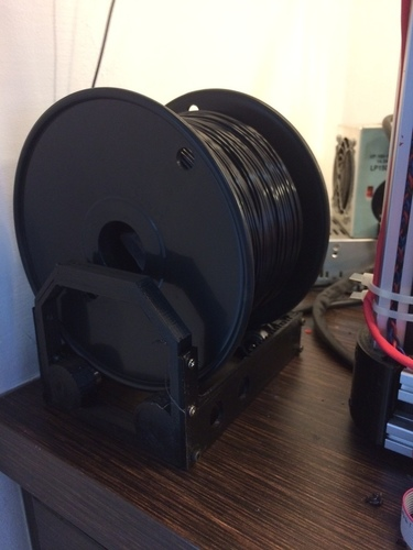 SuperSized Filament Holder - Designed for Larger Spools - As smo 3D Print 94315