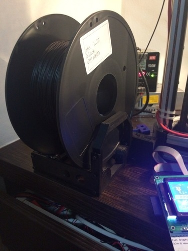 Desktop Spool Holder in 4 build plates 3D Print 94317