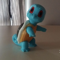 Small Pokemon Go Squirtle  3dFactory Brasil 3D Printing 94321