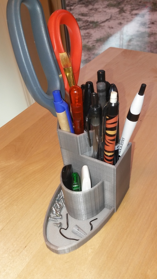 Medium Pen holder 3D Printing 94413