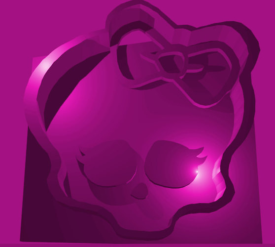 Monster High logo Cookie Cutter 3D Print 94486