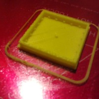 Small Cheese cracker cookie cutter 3D Printing 94487