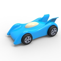 Small 3D Race car 3D Printing 94557