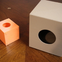 Small Mini Cajon V1 3D Printing 94576