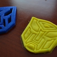 Small Transformers Logo Cutter 3D Printing 94637