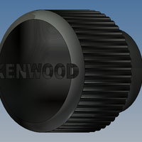 Small Kenwood Dubble DIN button  3D Printing 94657