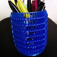Small Pen & Pencil Holder 3D Printing 94668