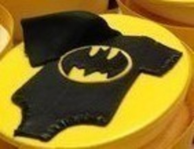 Batman Babygrow Cupcake Decoration 3D Print 94670