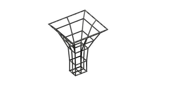 Medium Architectural column frame 3D Printing 94682