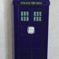 Small TARDIS Light switch cover (NZ) 3D Printing 94720