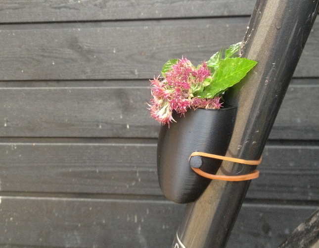 Bike Planter - Now easier to print 3D Print 94760