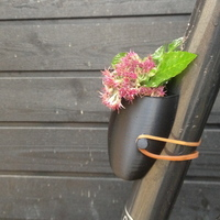 Small Bike Planter - Now easier to print 3D Printing 94760