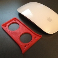 Small Magic Mouse Holder 3D Printing 94769