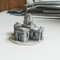 Small Easy to print Saint Miguel Chapel 3D Printing 94882