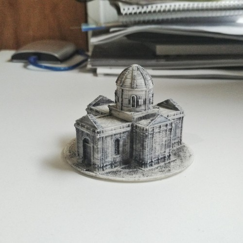 Easy to print Saint Miguel Chapel 3D Print 94884