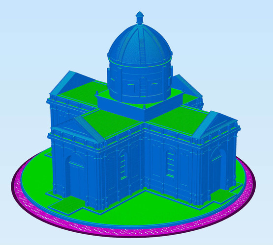 Easy to print Saint Miguel Chapel 3D Print 94887