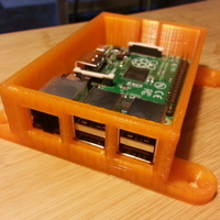 Small Raspberry Pi 2/B+ case with different lids and configurations 3D Printing 95059