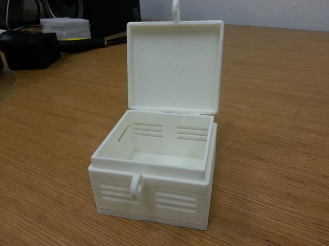 Hinged Smart Citizen Kit Case with Air Vents 3D Print 95083