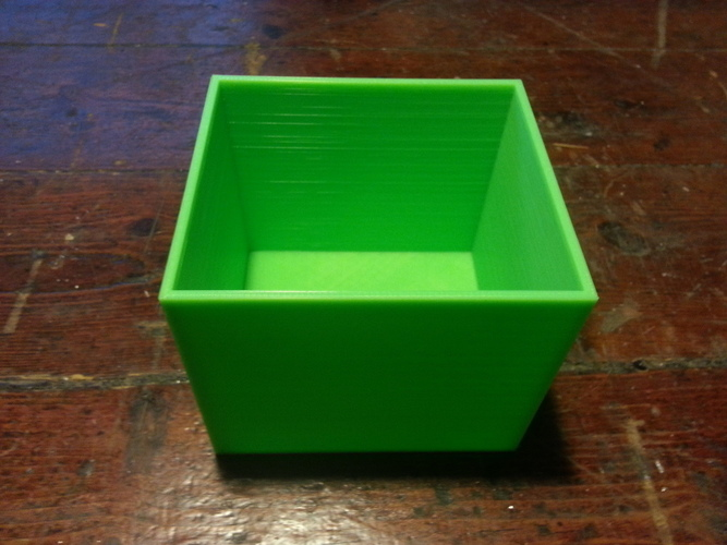 Breadbox organization system with different size boxes for screw 3D Print 95091