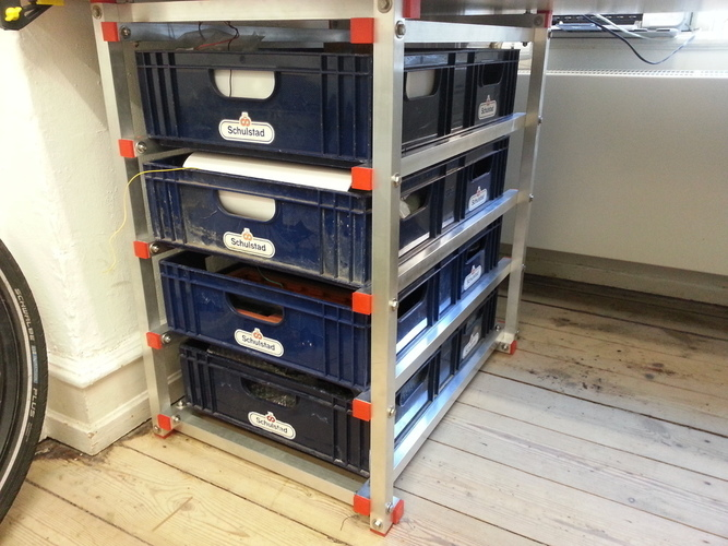 Drawer system with breadboxes 3D Print 95111