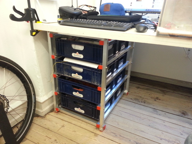 Drawer system with breadboxes 3D Print 95112