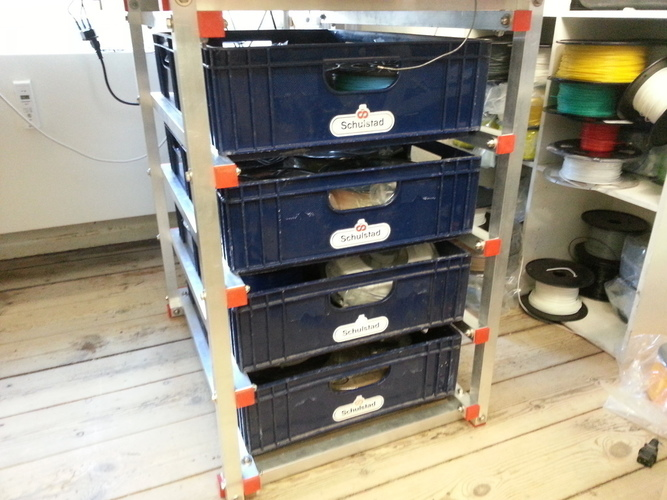 Drawer system with breadboxes 3D Print 95113
