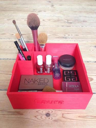 Makeup Box for keeping your makeup nice and neat! 3D Print 95122
