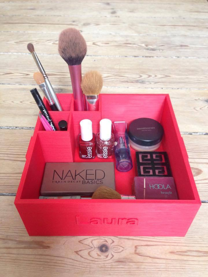 Printed Makeup Box For Keeping Your